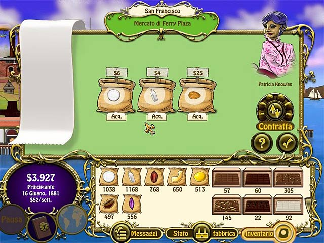 Screenshot Del Gioco 3 Chocolatier