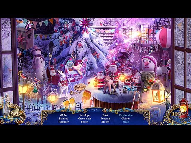 Screenshot Del Gioco 1 Christmas Stories: A Christmas Carol Collector's Edition