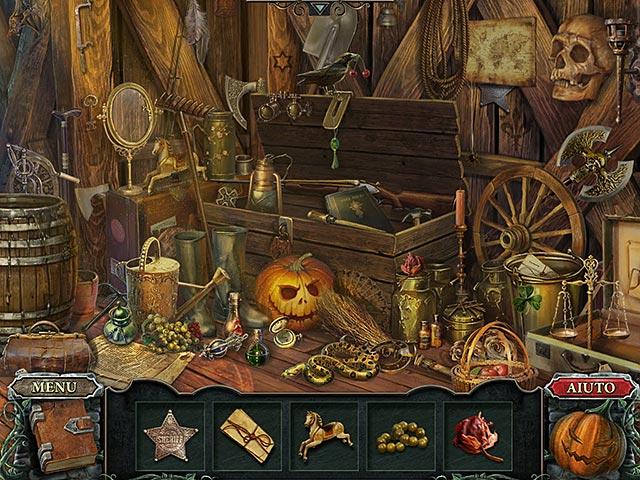 Screenshot Del Gioco 1 Cursed Fates: Il cavaliere senza testa