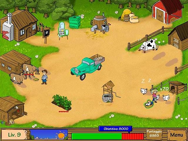Screenshot Del Gioco 1 Dairy Dash