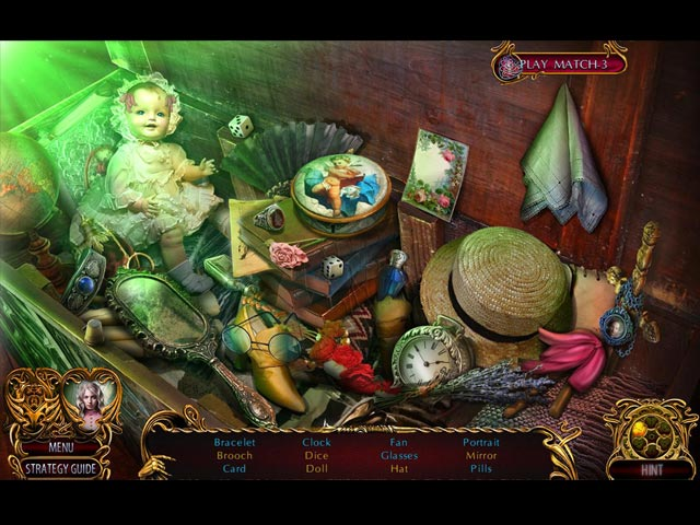 Screenshot Del Gioco 2 Dark Romance: The Monster Within Collector's Edition