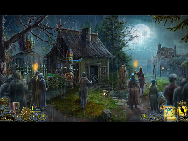 Screenshot Del Gioco 1 Dark Tales: Edgar Allan Poe's The Oval Portrait Collector's Edition
