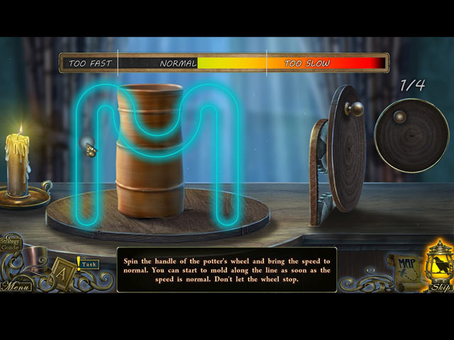 Screenshot Del Gioco 3 Dark Tales: Edgar Allan Poe's The Oval Portrait Collector's Edition