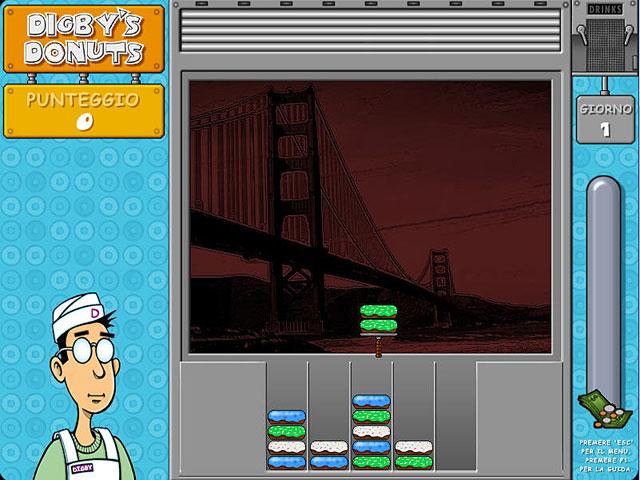 Screenshot Del Gioco 1 Digby`s Donuts