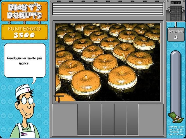 Screenshot Del Gioco 2 Digby`s Donuts
