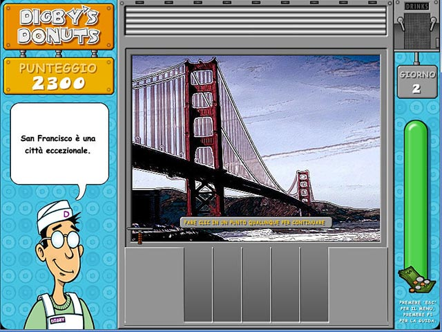 Screenshot Del Gioco 3 Digby`s Donuts