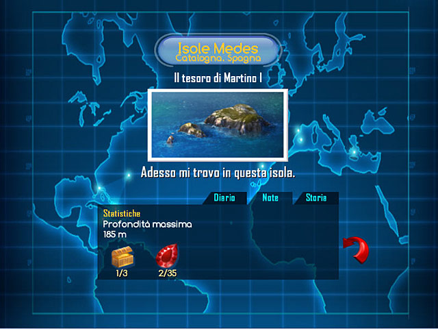 Screenshot Del Gioco 1 Dive: The Medes Islands Secret