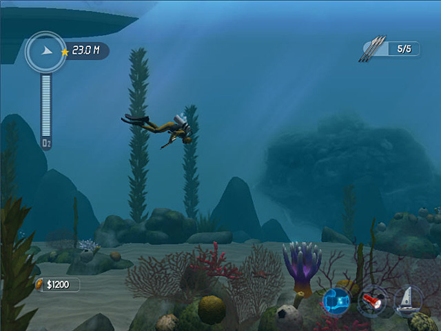Screenshot Del Gioco 2 Dive: The Medes Islands Secret