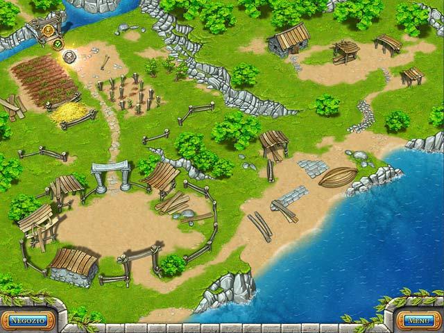 Screenshot Del Gioco 2 Farm Frenzy: Ancient Rome
