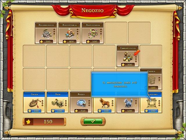 Screenshot Del Gioco 3 Farm Frenzy: Ancient Rome