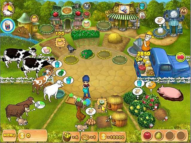 Screenshot Del Gioco 1 Farm Mania