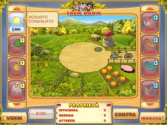 Screenshot Del Gioco 3 Farm Mania