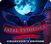 Caratteristica Screenshot Gioco Fatal Evidence: The Cursed Island Collector's Edition