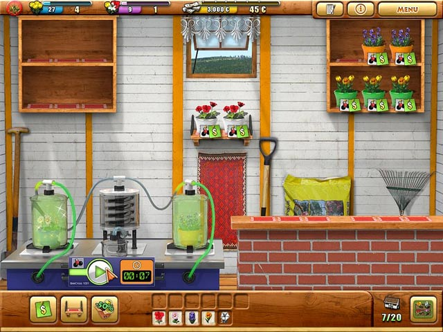 Screenshot Del Gioco 2 Fiona Finch and the Finest Flowers