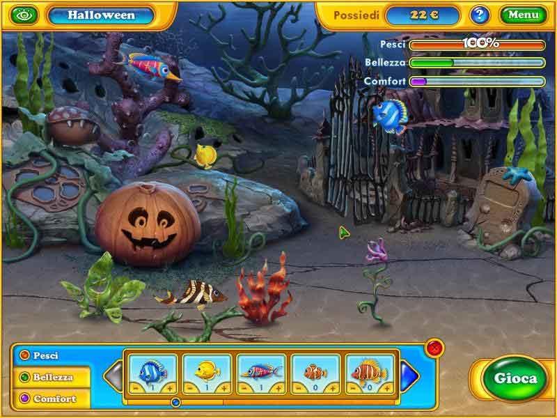 Screenshot Del Gioco 2 Fishdom - Spooky Splash