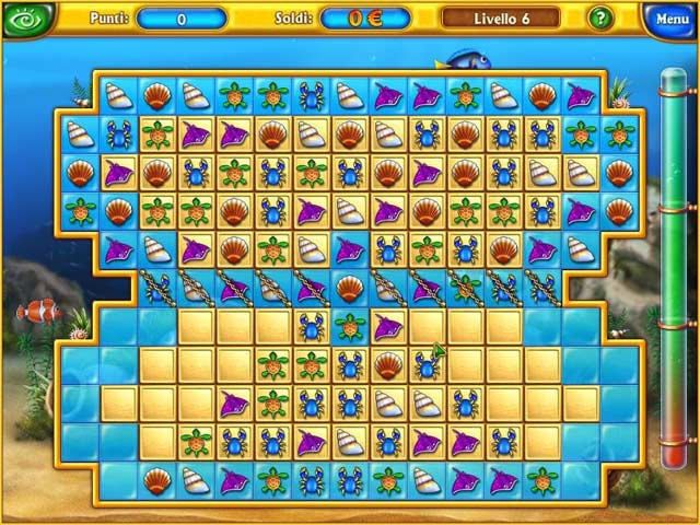 Screenshot Del Gioco 1 Fishdom