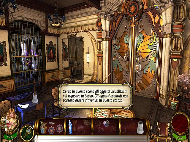 Screenshot Del Gioco 1 Flux Family Secrets: La tana del coniglio