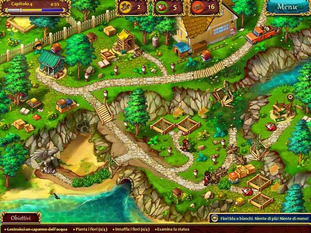 Screenshot Del Gioco 3 Giardini e Giardini: Dalle stalle alle stelle