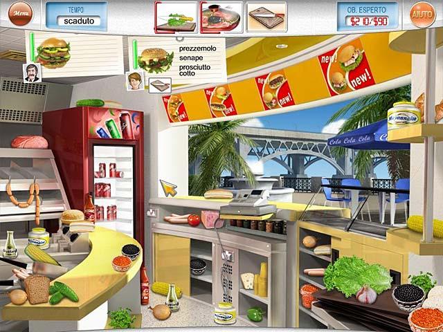 Screenshot Del Gioco 1 Gourmania
