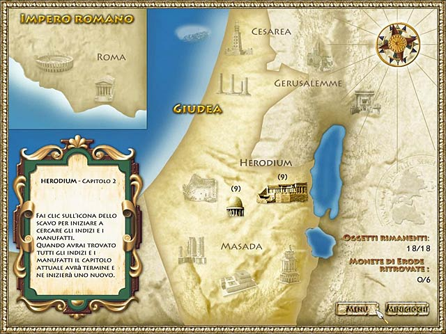 Screenshot Del Gioco 3 National Geographic  presents: Herod's Lost Tomb