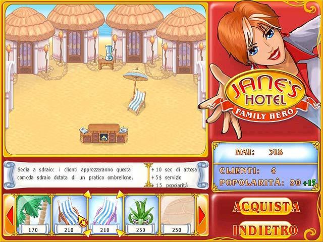 Screenshot Del Gioco 2 Jane's Hotel: Family Hero