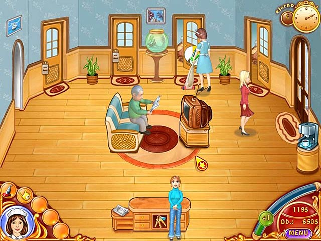 Screenshot Del Gioco 1 Jane's Hotel