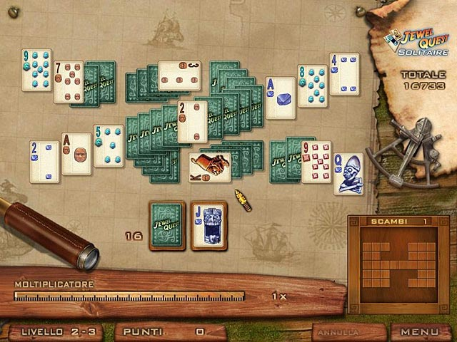 Screenshot Del Gioco 2 Jewel Quest Solitaire