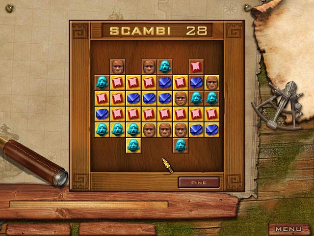 Screenshot Del Gioco 3 Jewel Quest Solitaire
