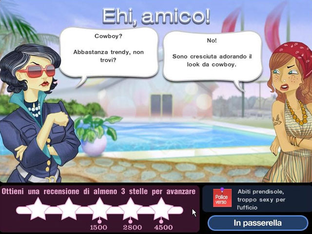 Screenshot Del Gioco 3 Jojo's Fashion Show 2: Las Cruces