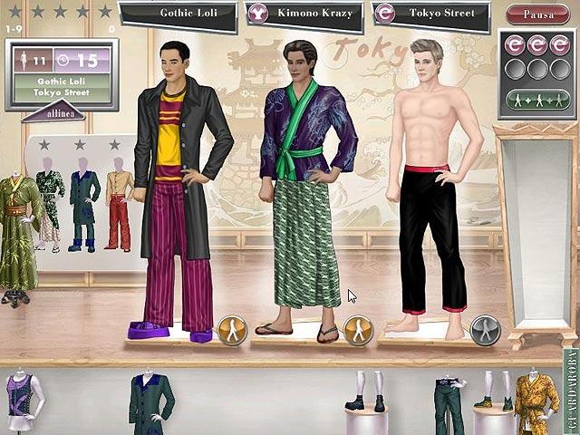 Screenshot Del Gioco 2 Jojo's Fashion Show: World Tour