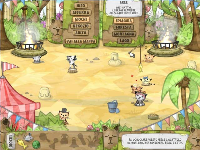 Screenshot Del Gioco 1 Kitten Sanctuary