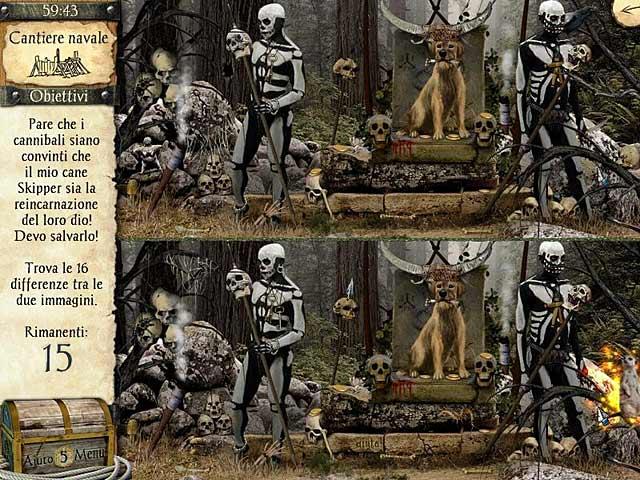 Screenshot Del Gioco 3 Le avventure di Robinson Crusoe