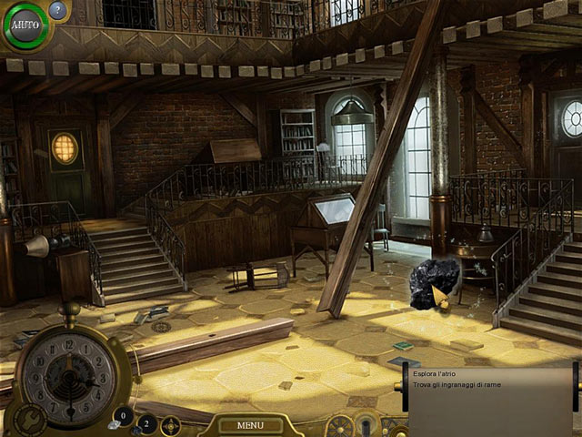 Screenshot Del Gioco 2 Lost in Time: The Clockwork Tower