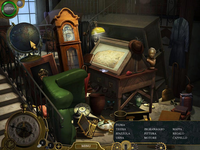 Screenshot Del Gioco 3 Lost in Time: The Clockwork Tower