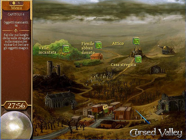 Screenshot Del Gioco 3 The Magicians Handbook - Cursed Valley
