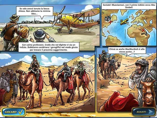 Screenshot Del Gioco 1 Mahjongg: Ancient Egypt
