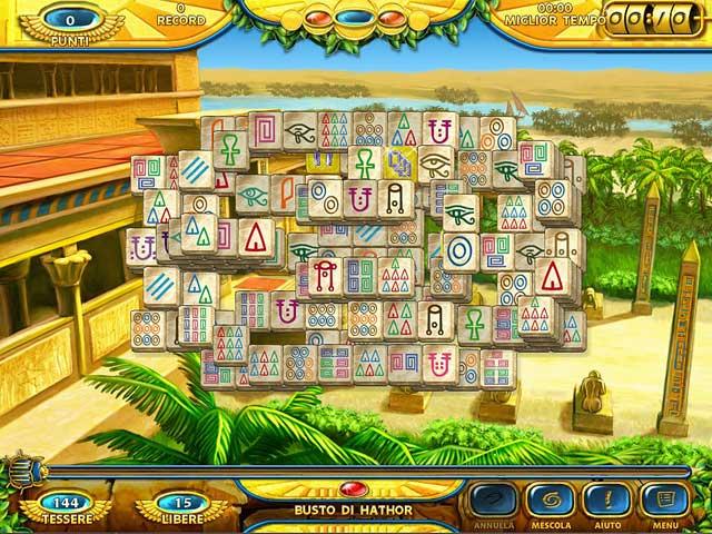 Screenshot Del Gioco 2 Mahjongg: Ancient Egypt