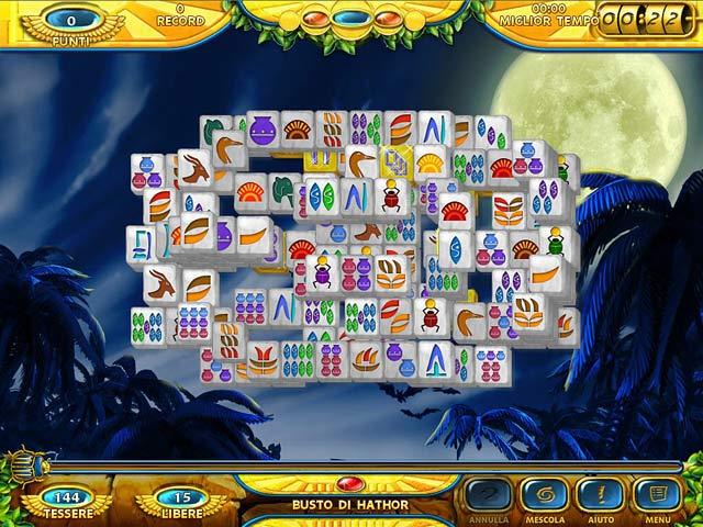 Screenshot Del Gioco 3 Mahjongg: Ancient Egypt