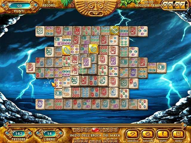 Screenshot Del Gioco 2 Mahjongg: Ancient Mayas