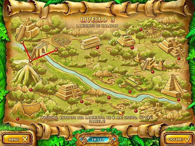 Screenshot Del Gioco 3 Mahjongg: Ancient Mayas