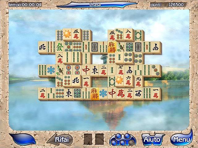Screenshot Del Gioco 1 Mahjongg Artifacts