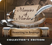 Caratteristica Screenshot Gioco Memoirs of Murder: Resorting to Revenge Collector's Edition