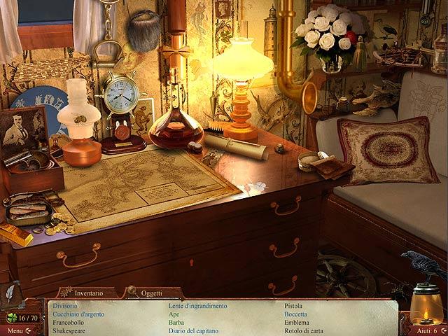 Screenshot Del Gioco 1 Midnight Mysteries: Il Diavolo sul Mississippi