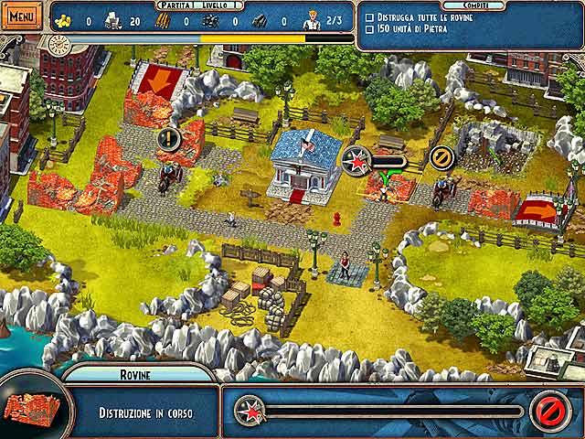 Screenshot Del Gioco 3 Monument Builders: La Statua della Libertà