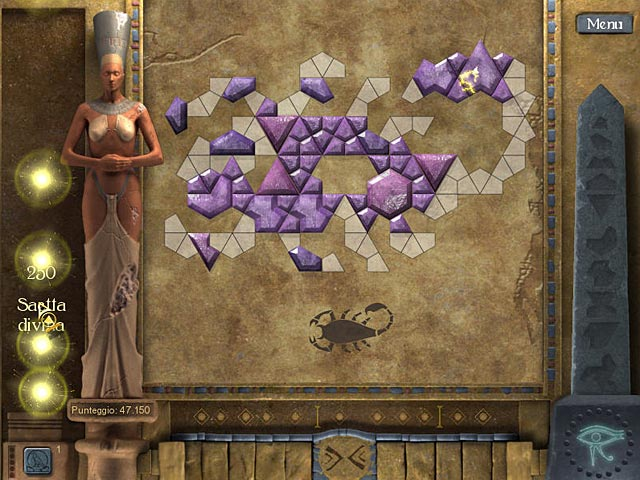 Screenshot Del Gioco 3 Mosaic Tomb of Mystery