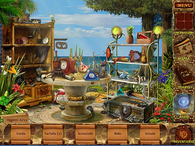 Screenshot Del Gioco 2 Mysteries of Magic Island