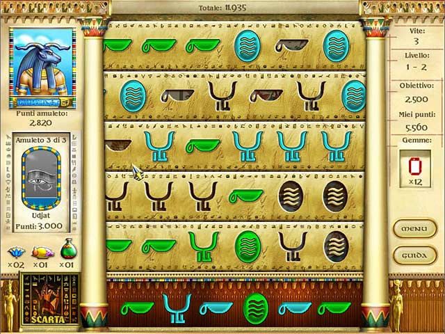 Screenshot Del Gioco 1 Mysteries of Horus