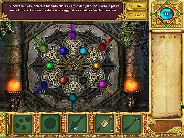Screenshot Del Gioco 2 Mystery Age: Lo scettro imperiale