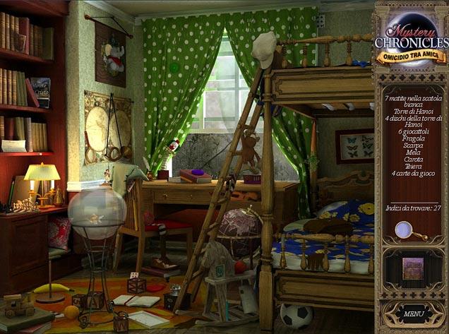 Screenshot Del Gioco 1 Mystery Chronicles: Omicidio tra amici