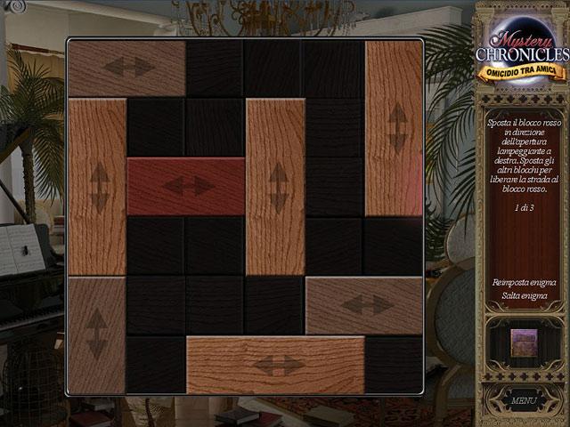 Screenshot Del Gioco 2 Mystery Chronicles: Omicidio tra amici